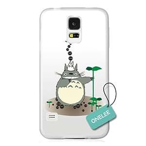 Onelee(TM) Japanese Anime My Neighbor Totoro Samsung Galaxy S5 Case & Cover - Transparent 08