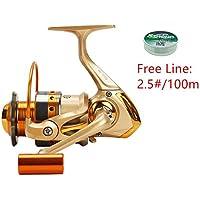 FAIGAFAIVA Spinning Fishing Reels 12 Stainless BB Light...