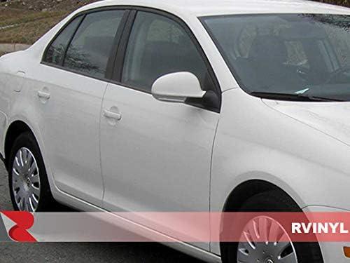 - Gloss Wagon Black Rvinyl Rtrim Pillar Post Decal Trim for Volkswagen Jetta 2005.5-2014