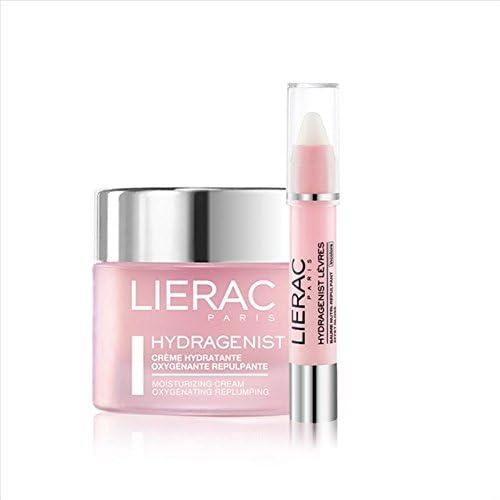 Lierac estuche hydragenist rimpolpante Crema Facial Hidratante + balsamo labios: Amazon.es: Salud y cuidado personal