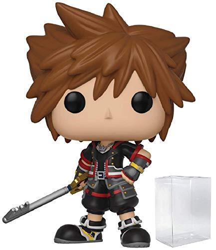 Funko Disney: Kingdom Hearts 3 - Sora Pop! Vinyl Figure (Includes Compatible Pop Box Protector Case) ()
