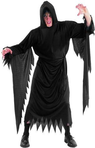 Demonios Scream sotana Halloween carnaval fiesta Disfraz adulto ...