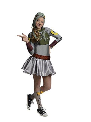 Star Wars Boba Fett Tween Costume Dress, Medium ()