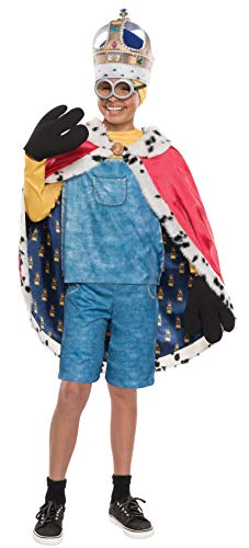 Rubie's Men's Minion King Cape, Multi, One Size -