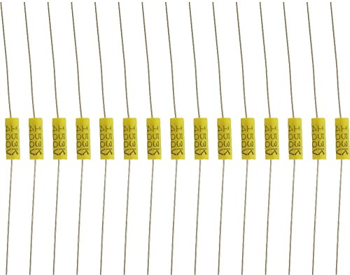Capacitor - 400V, Metal Film, Capacitance: .015 uF, package of 15