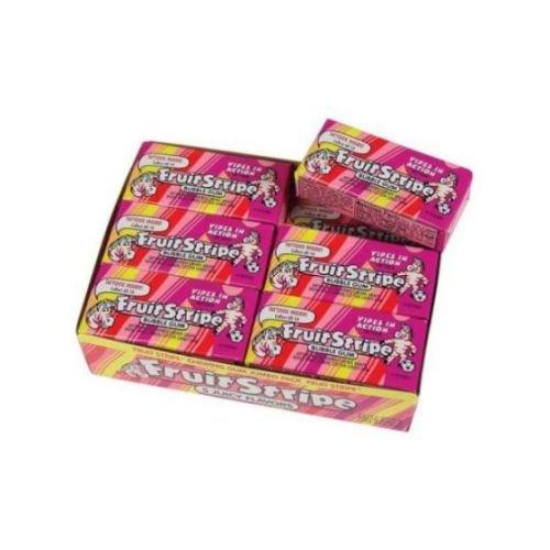 Fruit Stripe 17 Piece Bubble Gum, 1.8 Ounce -- 192 per case.