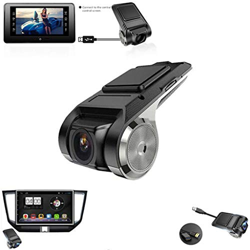 HowLoo Driving Recorder USB Car DVR HD 1080P Night Version Camera 170 Wide Angle