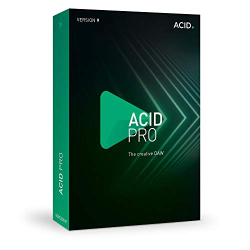 - Acid Pro - Version 9 - Loop-Based Music Production with the Creative Daw