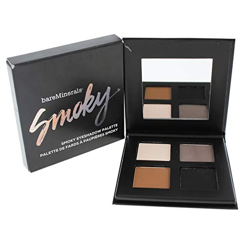 bareMinerals Smoky Eyeshadow Palette, 0.16 Ounce