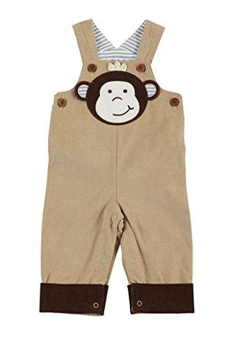 - Mud Pie Baby Boy Shortall Short Sleeve, Brown, 12-18 Months