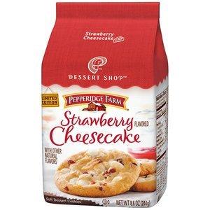 (Pepperidge Farm Dessert Shop Strawberry Cheesecake Cookies)