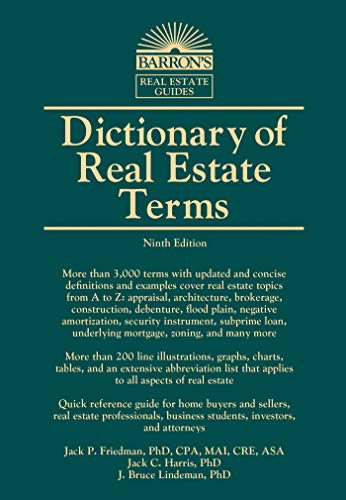 Pdf Reference Dictionary of Real Estate Terms (Barron's Business Dictionaries)