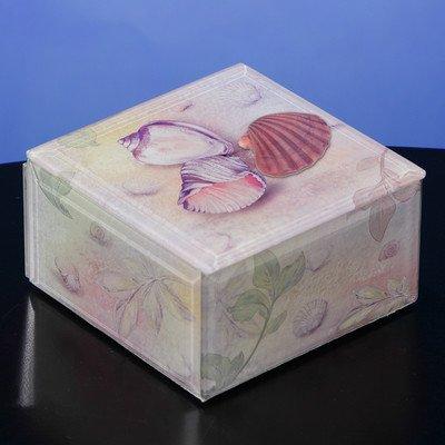 Seashells Music Jewelry Box - Wooden San Watches Francisco