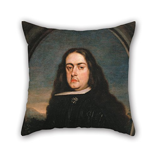 [Slimmingpiggy Oil Painting Claudio Coello - Juan Francisco De La Cerda, VIII Duke Of Medinaceli Pillow Covers 16 X 16 Inches / 40 By 40 Cm Gift Or Decor For Bedding,dining Room,play] (National Costume Of All Countries)