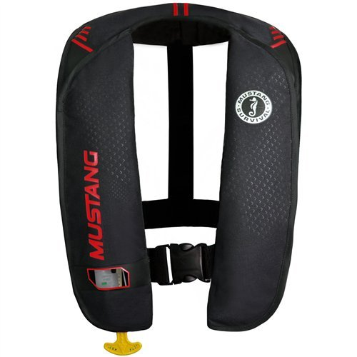 Mustang Survival Corp M.I.T. 100 Manual Activation PFD, Black/Red