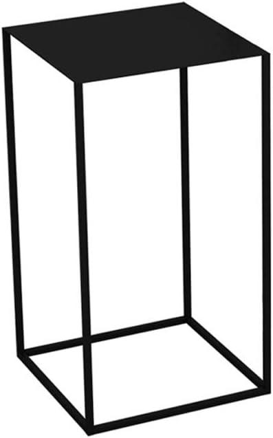 Color : Blue , Dimensione : 11.8*19.68in Ferro piccola mensola Tavolino stile nordico pu/ò essere utilizzato come Comodino Divano Tavolino pianta verde Rack for Camera da letto Balcone
