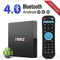 Kingbox T95Z Max Android 7.1 Smart TV Wi-Fi H.265 3D 4K Bluetooth Set Top Box (Black)