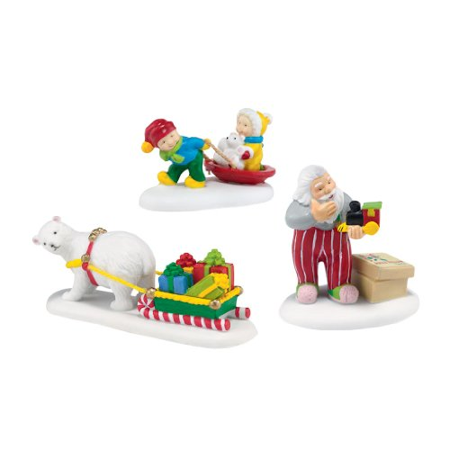 Department 56 North Pole Village Jolly Fellows Accessory, 1.25 inch