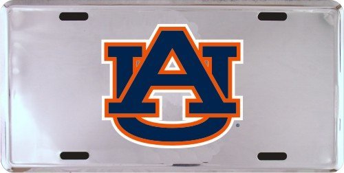 HangTime Auburn Tigers Super Stock Metal License Plate 6 x 12