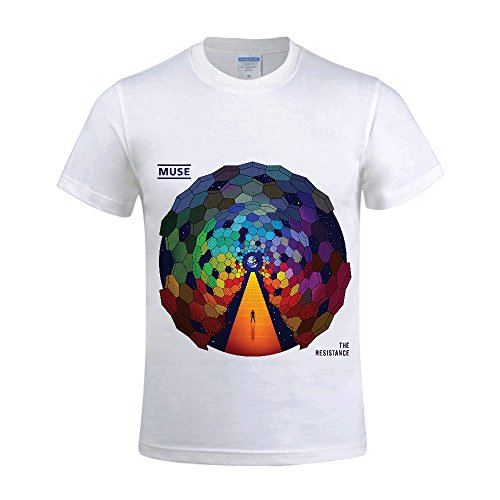 Muse The Resistance Men T Shirts Crew Neck 100 Cotton - Muse Eyeglasses