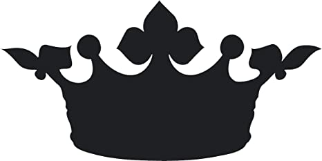 Amazon Com Simple Black Shadow Silhouette Regal Royal Crown Cartoon Emoji Vinyl Sticker 2 Wide Queen 9 Kitchen Dining Download clker's black crown clip art and related images now. simple black shadow silhouette regal