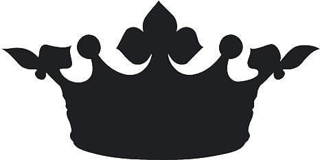 Amazon com: Simple Black Shadow Silhouette Regal Royal Crown