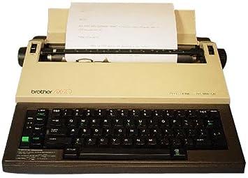 Reconstruido discontinued Brother AX10 máquinas de escribir por alrededor de la oficina con nueva máquina garantía
