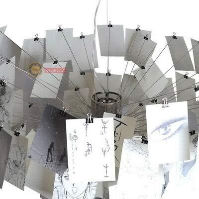 FidgetGear Dia.120cm Ingo Zettel'z 5 Paper Zettel LED Ceiling Light Pendant Lamp Chandelier by FidgetGear (Image #6)