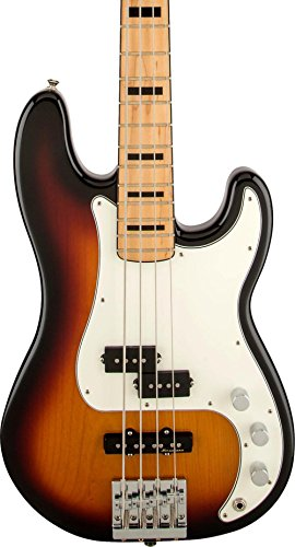 (Fender Special Edition Deluxe PJ Bass 3-Tone Sunburst Maple)