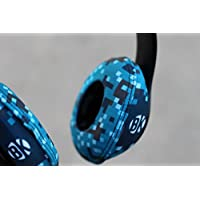 Beat Kicks Washable Headphone Covers - Digicamo Blue