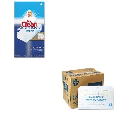 KITHOSHG5000CTPAG82027 - Value Kit - Health Gards Toilet Seat Covers (HOSHG5000CT) and Mr. Clean Magic Eraser Foam Pad (PAG82027)