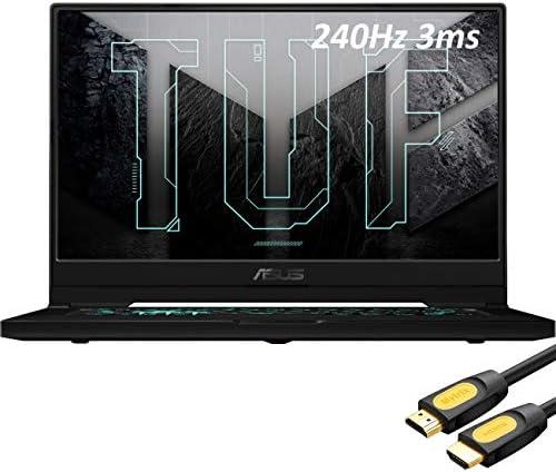 2021 ASUS_ TUF 3070 Gaming Laptop, 240Hz 3ms FHD 15.6″ Display, Intel Core i7-11370H, GeForce RTX 3070 8GB GDDR6, 24GB RAM, 2TB SSD, Thunderbolt 4, Backlit, WiFi 6, Mytrix HDMI Cable, Win 10