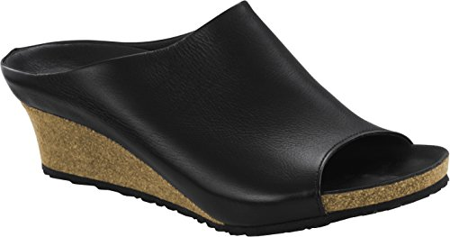 Papillio Debby Textil - Mules Mujer negro