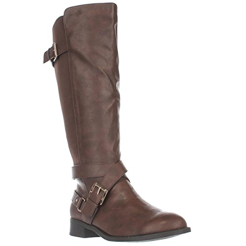 Cognac Closed Vada High Thalia Fashion Womens Toe Sodi Boots Knee SPnTfvn