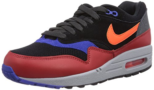 282c8888a91aad Nike Mens Air Max 1 Essential Black Red Clay Anthracite Hyper Crimson 537383 -017 14 - Buy Online in Oman.