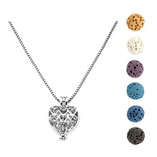 Mini Locket Necklace - 5