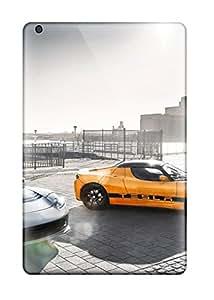 Tpu Case For Ipad Mini/mini 2 With Tesla Roadster 25