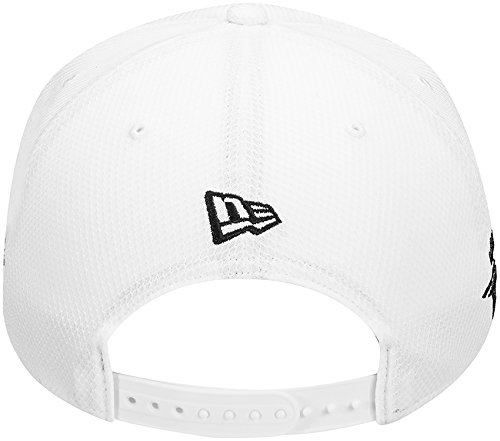 TaylorMade 2017 New Era Tour 9Fifty P5 Flat Bill Hat Structured Mens  Snapback Golf Cap White 9dd5576851fc