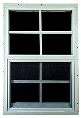 "Shed Windows 18"" W x 27"" H - Flush Mount - Playhouse Windows"