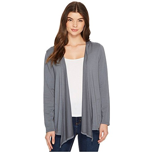 (モドオードック) Mod-o-doc レディース トップス カーディガン Cotton Modal Fleece Button Hem Hooded Cardigan [並行輸入品]