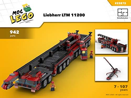 Liebherr Crane LTM 11200 (Instruction Only): MOC LEGO por Bryan Paquette
