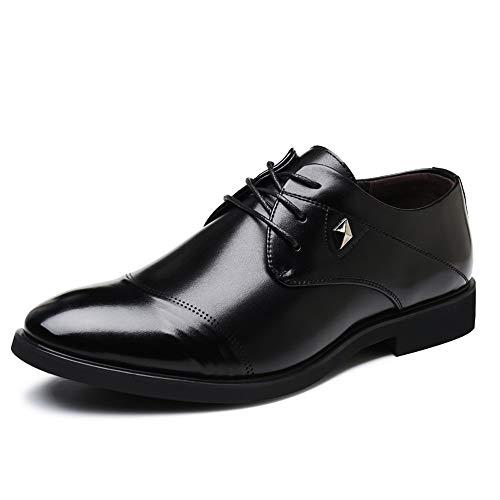 Cordones Para Cómodos Oxford Con Negro Zapatos Vestir Y Transpirables Puro Mxl De Hombres Color nwSqPYzf