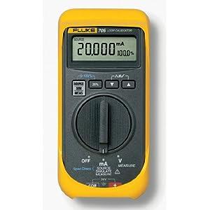 Fluke 707 Loop Calibrator with Quick Click Knob, 28V Voltage, 24mA Current, 0.015 percent Accuracy