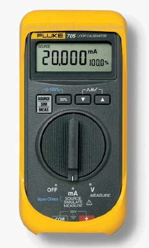 Fluke 705 Loop Calibrator, 28V Voltage, 24mA Current, 0.025 percent Accuracy by Fluke