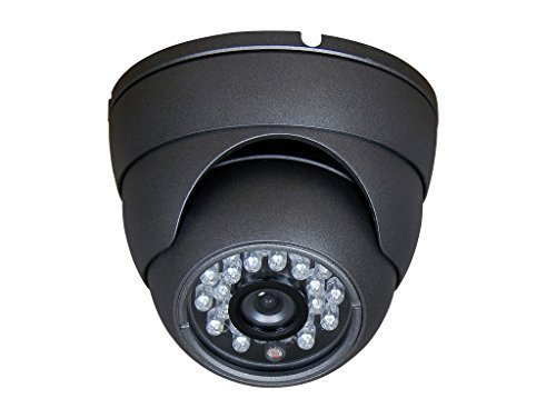 DV-SEC dv-sec-800 Dome CCTV Camera 24IR Grey DAA-230800C, Grey [並行輸入品] B01HONOYGG