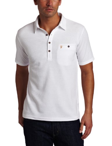 UPC 797722134785, Farah Men's The Lester Polo Tee, White, Small