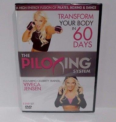 The Piloxing System (A High Energy Fusion of Pilates, Boxing and Dance) 5-DVD Set featuring Viveca Jensen - Video Piloxing