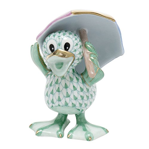 Herend Ducks Just Ducky Green (Herend Duck)