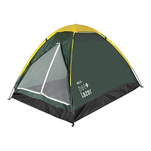 Barraca Camping Iglu 3 Bel Fix Verde/Amarelo
