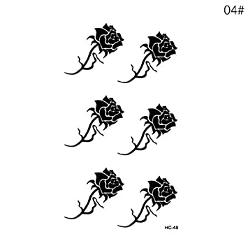 Amazoncom Yutang Lasting Temporary Tattoos Small Tattoo Sticker